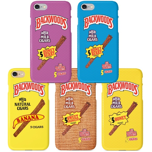 Backwoods Cigar Roll Up Flavors iPhone 5 6 7 8 X NWT